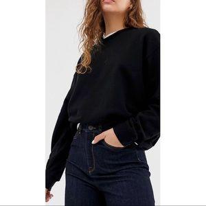 ASOS Weekday Oversized Basic Sweatshirt